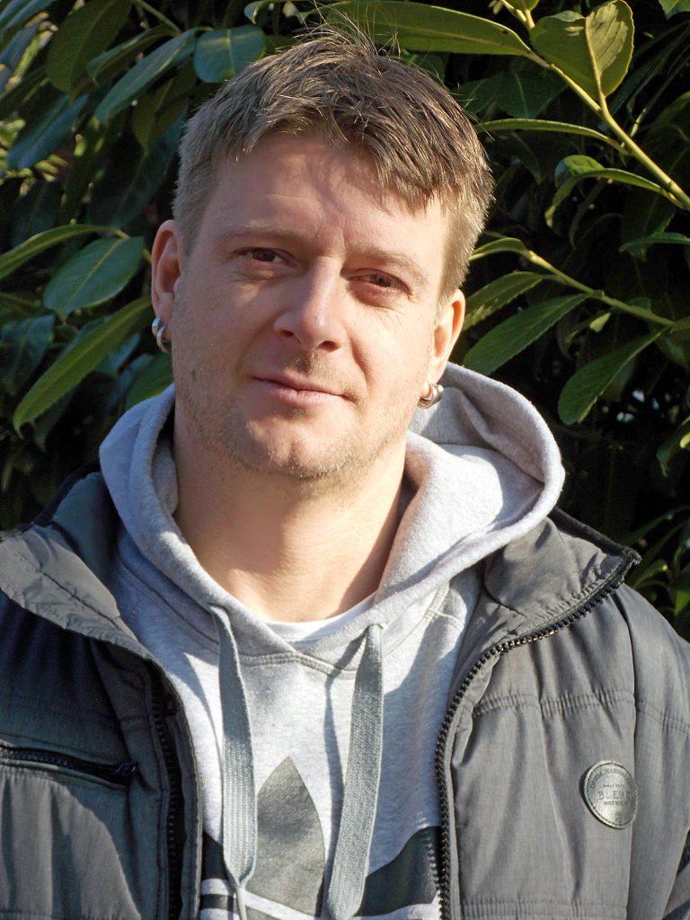 Heimleiter Tobias Lohmeyer im Haus Landwehr e.V.